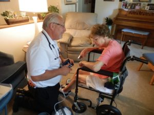 North Memorial In-home Visit - Paramedic Program