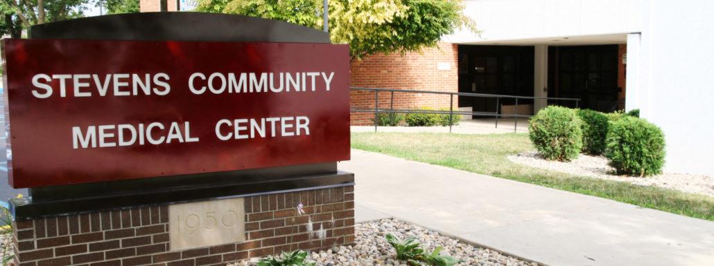 stevens county medical center sign